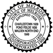 Melrose City Seal