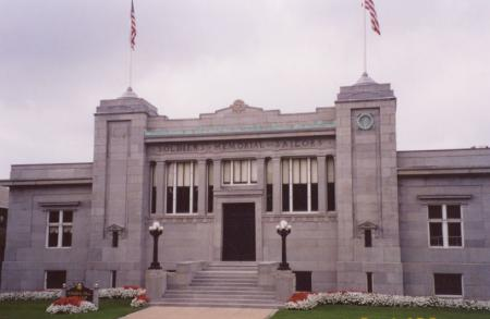 soldiers and sailors memorial hall building melrose ma