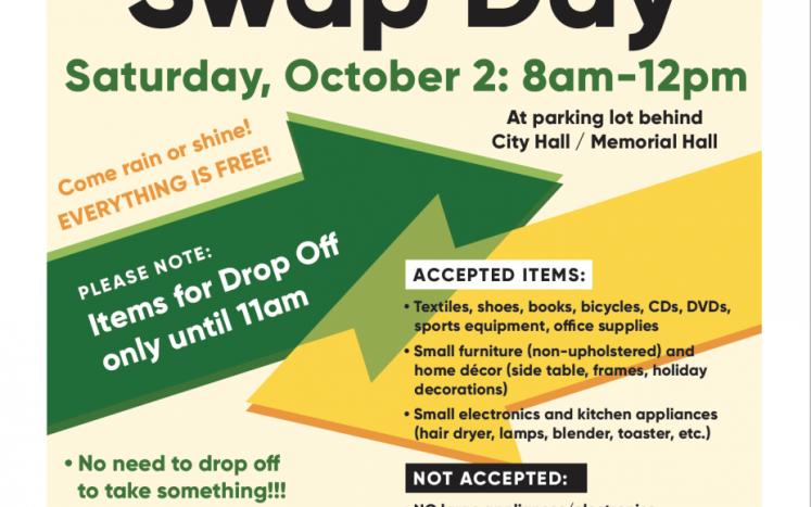 Melrose Swap Day Information