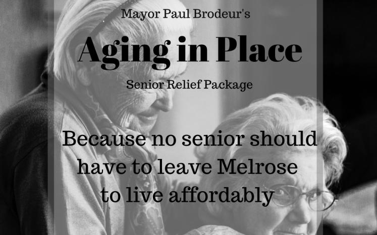Mayor Brodeur's Aging in Place Senior Relief Package
