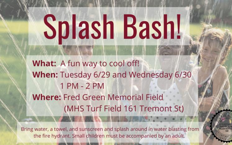 Splash Bash Info