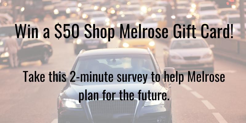 Win $50 shop melrose gift card